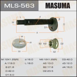 Болт эксцентрик MASUMA MLS563