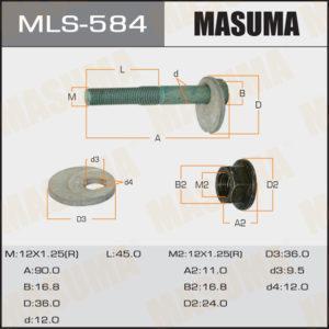 Болт эксцентрик MASUMA MLS584