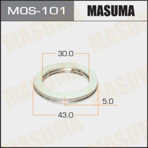 Кольцо глушителя MASUMA MOS101