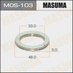 Кольцо глушителя MASUMA MOS103
