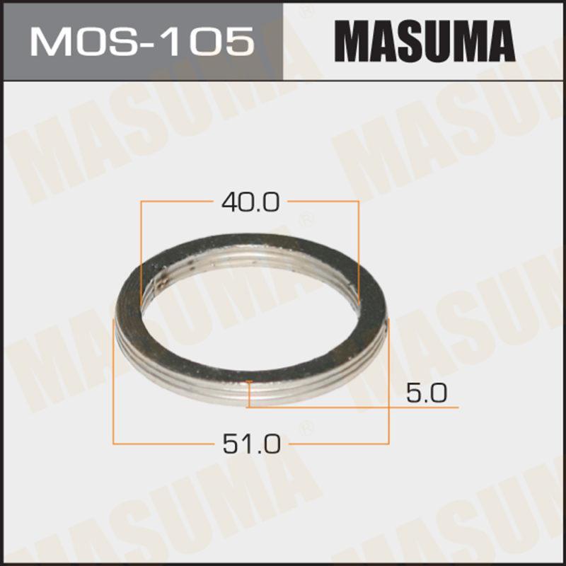 Кольцо глушителя MASUMA MOS105