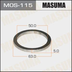 Кольцо глушителя MASUMA MOS115