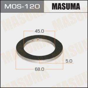 Кольцо глушителя MASUMA MOS120