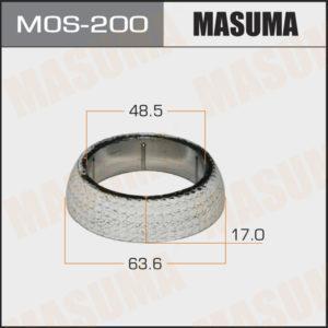 Кольцо глушителя MASUMA MOS200