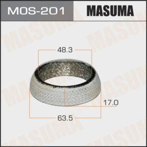 Кольцо глушителя MASUMA MOS201