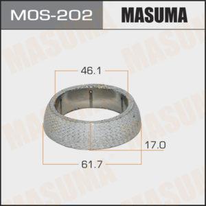 Кольцо глушителя MASUMA MOS202