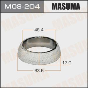 Кольцо глушителя MASUMA MOS204