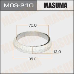 Кольцо глушителя MASUMA MOS210