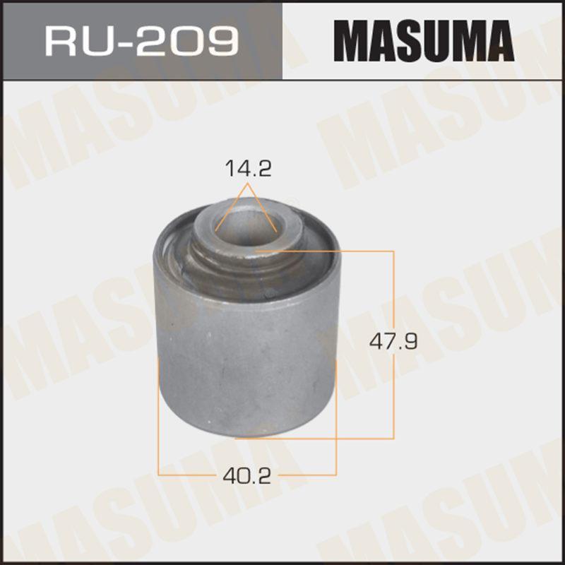 Сайлентблок MASUMA  Terrano /R50/ rear - (RU209)