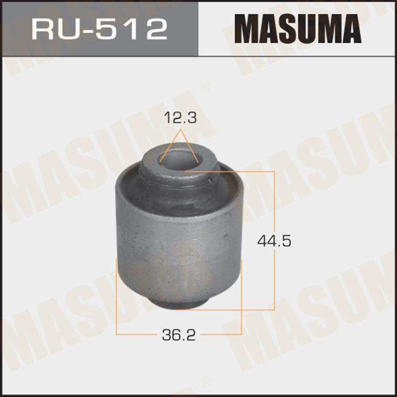 Сайлентблок MASUMA  MAZDA 6, ATENZA   02-   rear - (RU512)